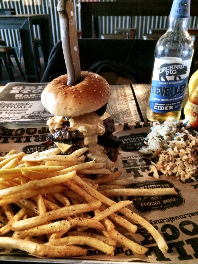 The Lockjaw burger from Grillstock