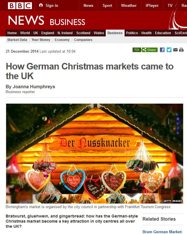 Knackers to German Christmas Markets