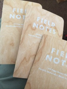 Shelterwood Field Notes notebooks
