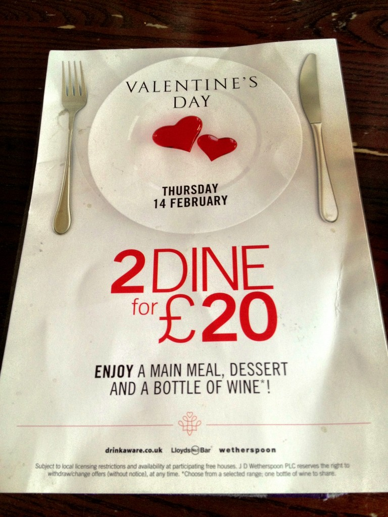 2 for twenty quid - feel valued yet?